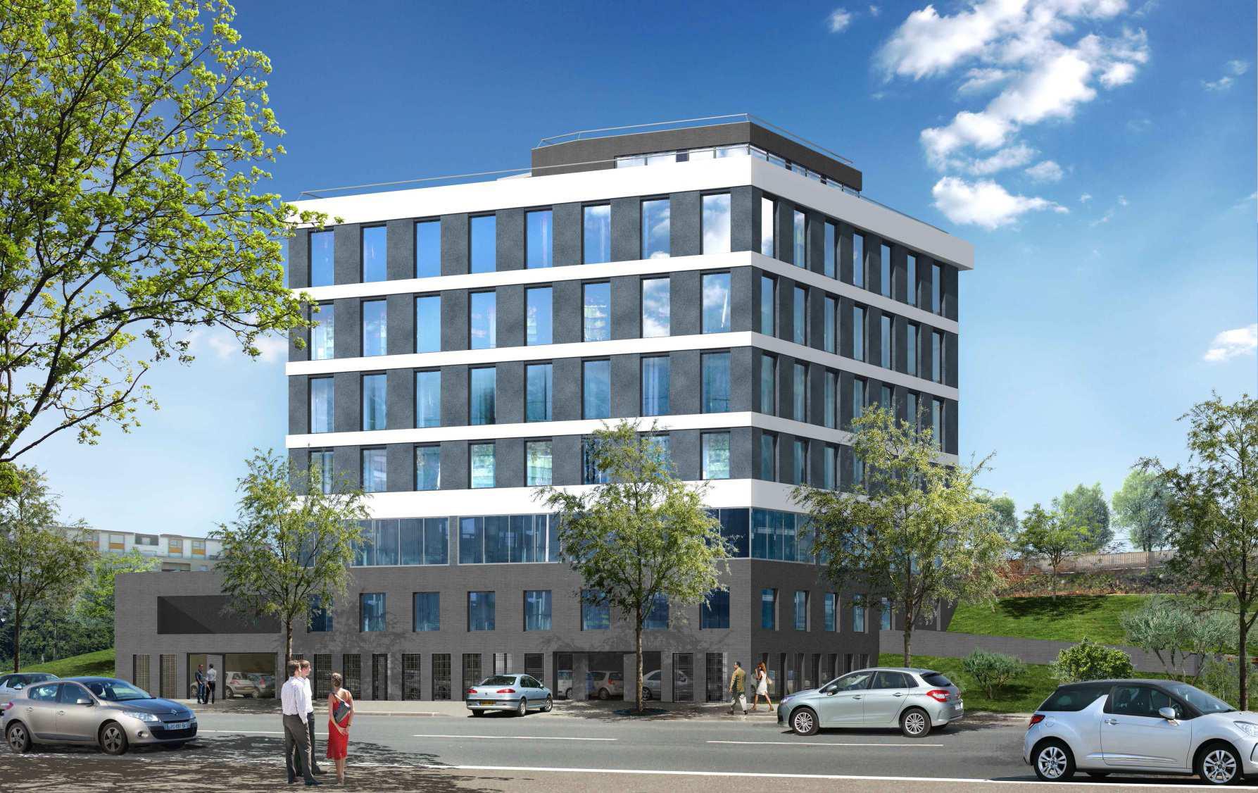 Constructions immobili res tertiaire tudiante h teli re for Immeuble bureau