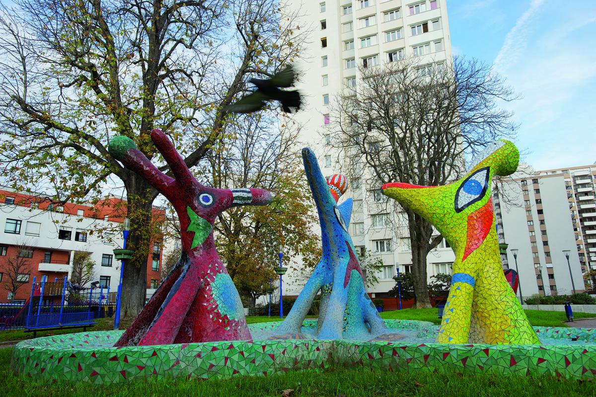 Fontaine les anim o square franchot centre ville for Piscine choisy le roi