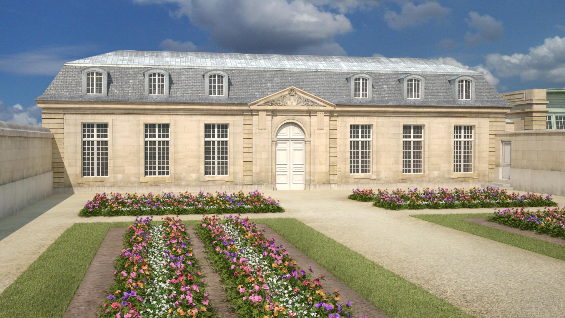 Jardin fleuriste Aménagé vers 1750, le jardin fleuriste était un ...
