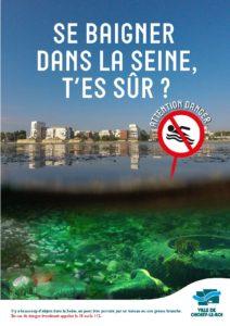Se baigner dans la Seine, t'es sûr - 1