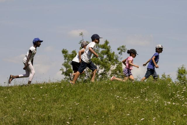 Sport, musique, peinture, jeux et sorties, les petits n'ont pas eu le temps de s'ennuyer dans les centres de loisirs. © Alain Guerrier